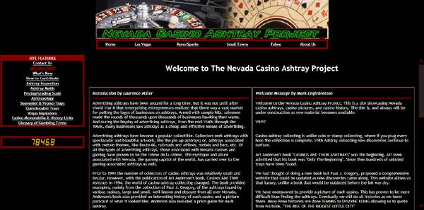 Nevada Casino Ashtray Project