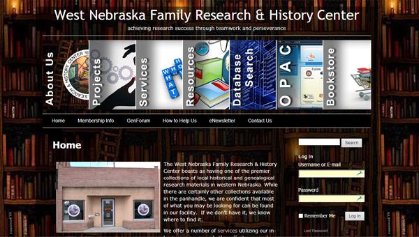 West Nebraska Family Research & History Center