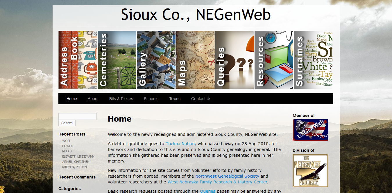 Sioux Co., NEGenWeb