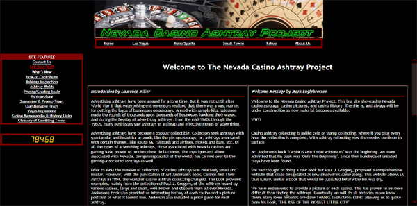 Nevada Casino Ashtray Project