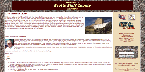 Scotts Bluff Co., NEGenWeb